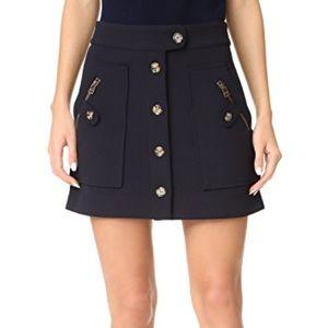 Veronica Beard Monroe Skirt, Navy, size 4, EUC